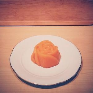 Budino all'arancia senza uova